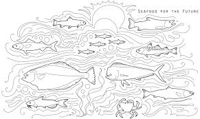 coloring pages fish tank redcabworcester redcabworcester