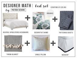 designer math mondays bedding set postbox designs