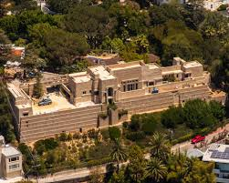 charles ennis house frank lloyd wright 1924 hollywood hills