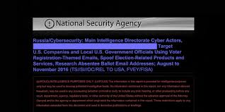 Challenge Russian Hacker Top Secret Nsa Report Details Russian Hacking Effort Days Before
