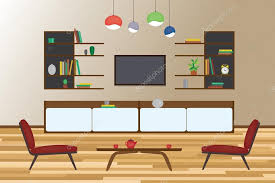 home interior vector home interior flat vector design living and dining room with