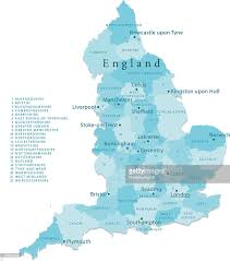 england vector map regions isolated vector art getty images