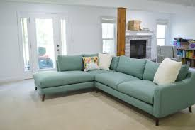 a sweet sectional for our basement family room loving here
