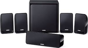 yamaha 5 1 home theater yamaha ns p20 5 1 channel speaker system black accessories4less