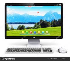 pc ordinateur de bureau ordinateur de bureau pc photographie scanrail 136793208