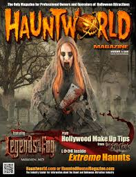 haunted house magazine hauntworld issue 39 shipping now