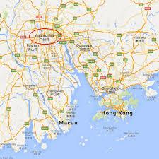 Dongguan China Map by Xiaobei Lu U2014china U0027s