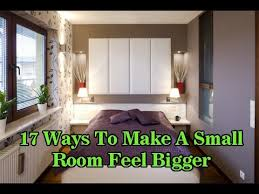 How To Make A Small Bedroom Feel Bigger small bedroom ideas 17 ideas to feel small room bedroom feel