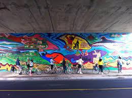 Atlanta Beltline Trail Map finishing up the atlantabeltline westside bike tour at a mural