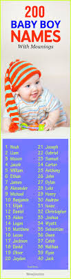 popular baby registry 200 most popular baby boy names with meanings for 2018 babies