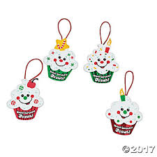 birthday jesus cupcake ornament craft kit