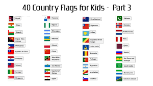 Conutry Flags 40 Country Flags With Names For Kids U2013 Part 3 Hd Wallpapers