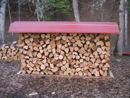 Plans For Building A Firewood Shed by How To Build A Firewood Rack Cheap And Easy