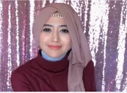 tutorial hijab resmi tutorial hijab segi empat semi formal dengan headband tutorial
