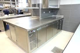 plan de travail cuisine professionnelle plan de travail inox cuisine professionnel mobilier pro