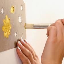 schablone wandgestaltung schablonenmalerei mit wandschablonen wände mit schablonen gestalten