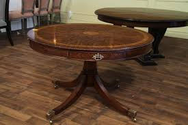 Duncan Phyfe Dining Room Set 48 Inch Round Formal Duncan Phyfe Rosewood Dining Table With