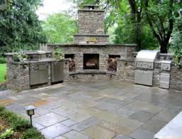 Outdoor Kitchen Ideas Outdoor Kitchens And Fireplaces Caruba Info