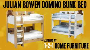 Julian Bowen Bunk Bed Julian Bowen Domino Bunk Bed Supplied By 121 Home Furniture