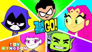 teen titans go transforms color swap episode jinx raven starfire