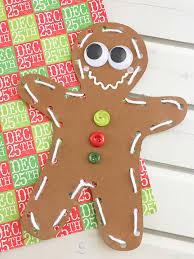 diy gingerbread ornaments rings things