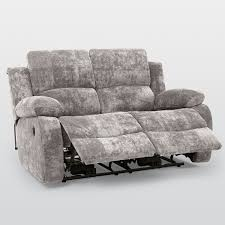 Fabric Recliner Sofa Asturias Fabric 2 Seater Electric Recliner Sofa U2013 Next Day