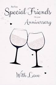 for special friends on your anniversary card cards