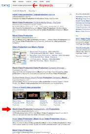 Miami Video Production Top Ranked Search Engine Optimization Miami Video Production