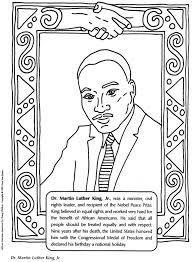 martin luther king coloring pages printable crafts blank title