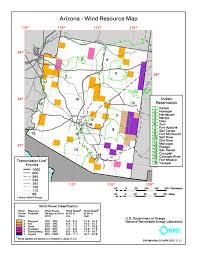 map of az arizona solar center resource maps