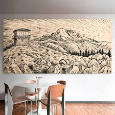 artwork on wood to sketching artwork inspired by the outdoors to