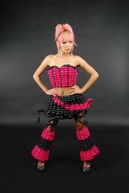 balloon dress fashion tawney bubbles las vegas balloon artist
