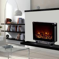 warm house dallas 22 in electric fireplace in black dsf 10302