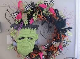 Halloween Wreaths Ideas by Decoration Diy Halloween Wreaths Decor Ideas Inspiring Home