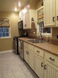distressed white kitchen cabinets 3349