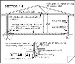 house construction plans understanding house construction plans cross section