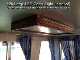 12 volt led strip lights for rv diy 12v large led cabin light