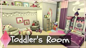 toddlers bedroom the sims 4 room build toddler s bedroom youtube