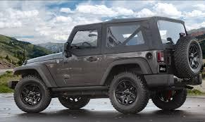 black jeep 2 door 2014 jeep wrangler willys wheeler edition