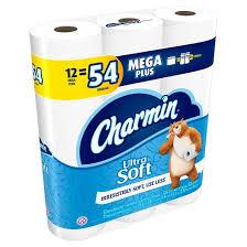 Charmin Bathroom Charmin Ultra Soft Toilet Paper 12 Mega Plus Rolls Target