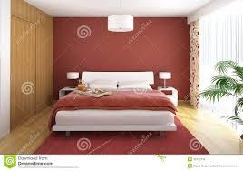 Modern Bedroom Interior Design Gallery Interior Design Bedroom Red Royalty Free Stock Images Image
