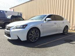 lexus gs 350 forum transformation in about 8 hours 13 white gs350 f sport