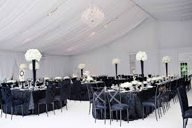 black and white wedding decorations reception black and white