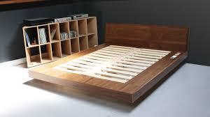 Floating Bed Frames Salient Diy Floating Bed Frame Regarding Levitating Home Design