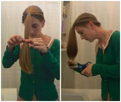 cut your own hair with clippers women hairstyle how to cutr own hair at home like pro women short long