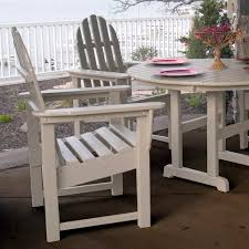 Classic Outdoor Furniture by Furniture Recycled Plastic Classic Curveback Adirondack Chair By