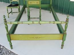 stickley quaint american furniture hand painted bedroom set from