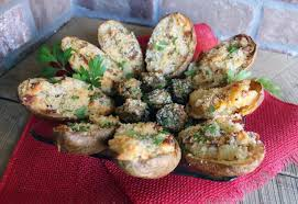 day after thanksgiving stuffed mushrooms potatoes recipe just