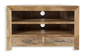 mango wood kitchen cabinets cube petite chunky solid mango wood corner entertainment unit tv
