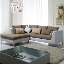 canapé d angle bi matière canapés d angle bi matière cuir et tissu canapé idées de